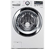 LG 4.3 Cu.Ft. Front Load Washer w/ Steam Technology - E285872