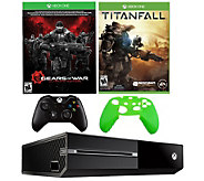Xbox One 500GB Gears of War Bundle with Titanfall & Accs. - E287672