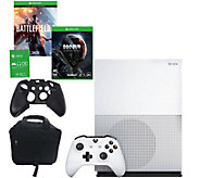 Xbox One S 500GB Battlefield 1 with Mass Effect& Accessories - E290972