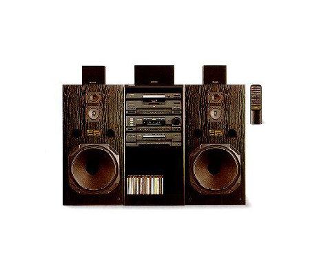 fisher 9625 audio component system w 24 cdchanger. Black Bedroom Furniture Sets. Home Design Ideas