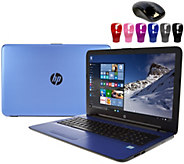 HP 15 Laptop Intel Core i3 12GB RAM 1TB HD DVD-RW, Webcam & Lifetime Tech - E230073