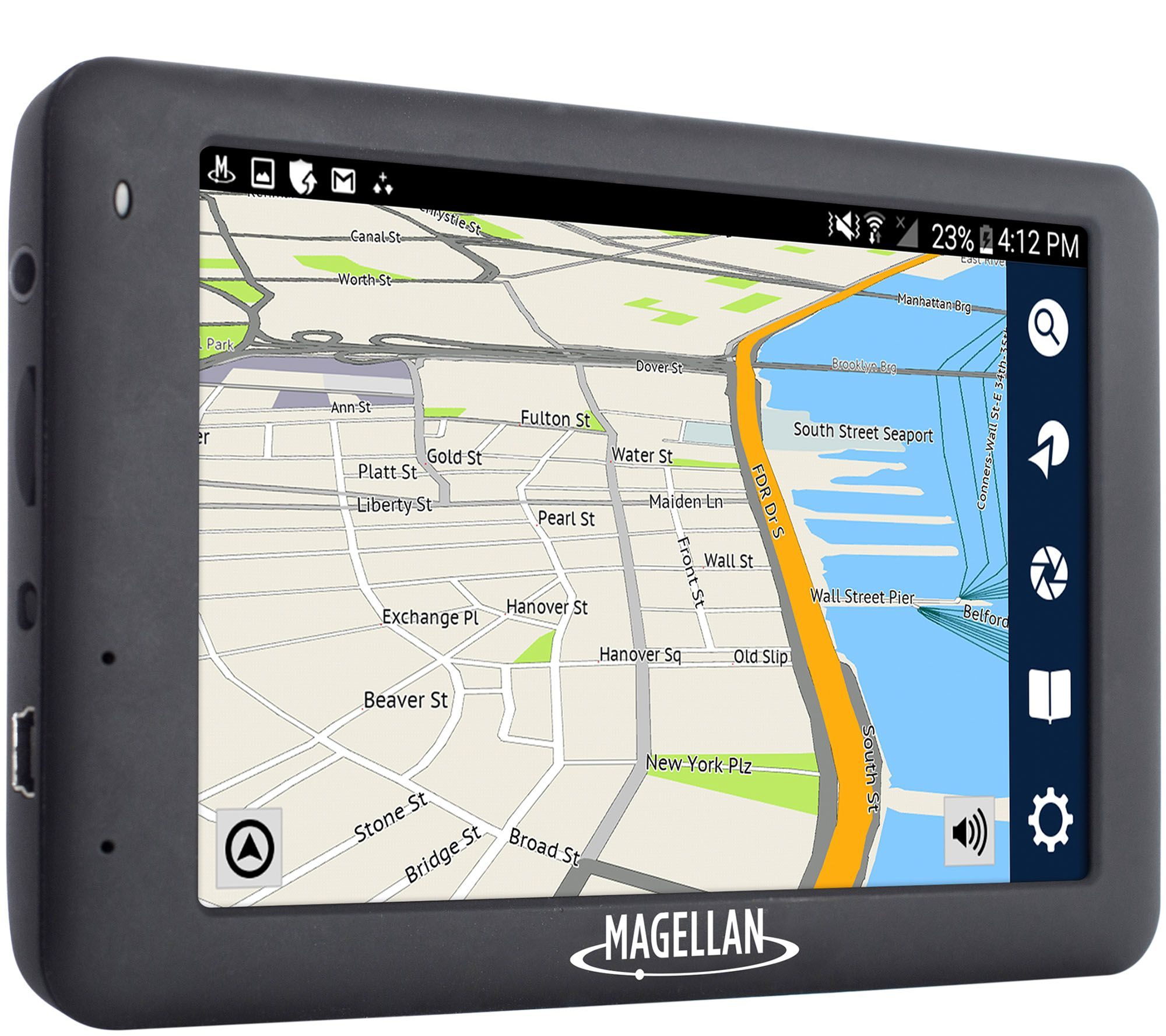 Magellan roadmate all in one gps full hd 1080p dash camera e230473