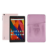 NuVision 8 HD Android 16GB Quad Core Tablet with Case & Software - E230573