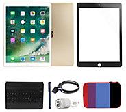 iPad Pro 9.7 128GB Wi-Fi Bundle w/ Bluetooth Keyboard & More - E231573