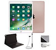 Apple iPad Pro 10.5 256GB Cellular & Accessories - Rose Gold - E293273