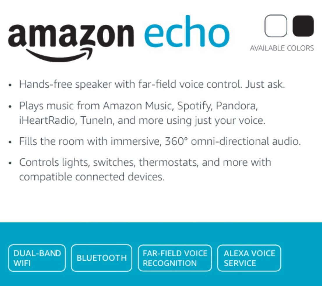 New customer qvc promo code - Amazon Echo Speaker With 2 Plus Months Music Audible Books Page 1 Qvc Com