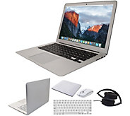 Apple MacBook Air 13 Laptop w/ Wireless Mouse, Case & Headphones - E231474