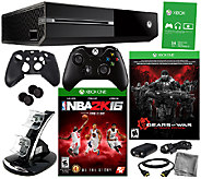 Xbox One Gears of War Bundle w/ NBA 2k16 and Accessories - E284774