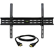 MegaMounts Tilt TV Wall Mount 32 to 70 with HDMI Cable - E287474