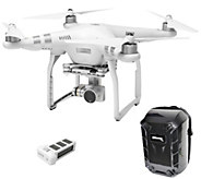 DJI Phantom 3 Advanced Drone with Extra Battery& Backpack Cas - E287974