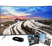 Samsung 65 LED 4K HDR Curved Smart TV w/ HDMIand App Pack - E291274