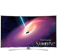 Samsung 55 Class LED 4K SUHD Curved Smart 3D TV - E282375