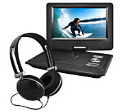 Ematic 10 Swivel Portable DVD with Headphones - E288275