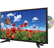 GPX 24 1080p DLED HDTV with Built-in DVD Player - E289075