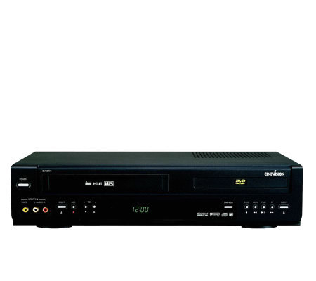 CineVision DVR2000 Progressive Scan DVD/VCR Combo