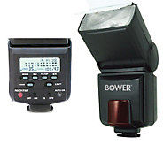 Bower Flash w/ LC Compatible for Canon DigitalSLR E-TTL I/II - E206676
