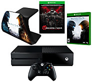 Xbox One 500GB Gears of War UltimateEdition Bundle with Halo 5 - E229176
