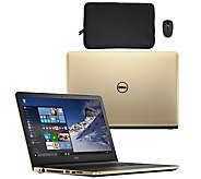 Dell 15 Laptop AMD Quad Core 8GB RAM 1TB HDD Sleeve, Mouse, Lifetime Tech - E230176