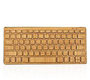 Compact Bluetooth Wireless Bamboo Keyboard - E276576