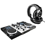 Hercules DJ Control Air S Series Turntable withHeadphones - E282976