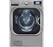 LG 5.2 Cu. Ft. SteamWasher w/ TurboWash and LCDDisplay - E285876