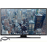Samsung 40 LED 4K Ultra HD Smart TV w/ HDMI Cables - E287176
