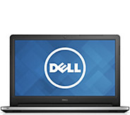 Dell Inspiron 15 Touch Laptop - Intel i7, 8GBRAM, 1TB HDD - E287376