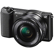 Sony Alpha a5100 24.3 MP Mirrorless Digital Camera - Body Only - E287676