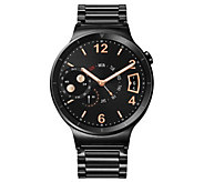 Huawei Smartwatch - Black Steel with Metal LinkBand - E287876