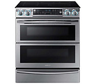 Samsung 30 Flex Duo Electric Range - StainlessSteel - E288676