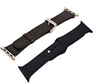 Digital Gadgets 2-Pack Replacement Bands for Apple Watch 42mm - E292876