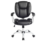 Techni Mobili Comfort Support Mid Back Office Chair - E267577