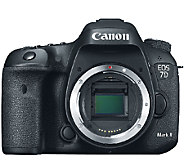 Canon EOS 7D Mark II 20.2MP Digital SLR Camera Body - E280477