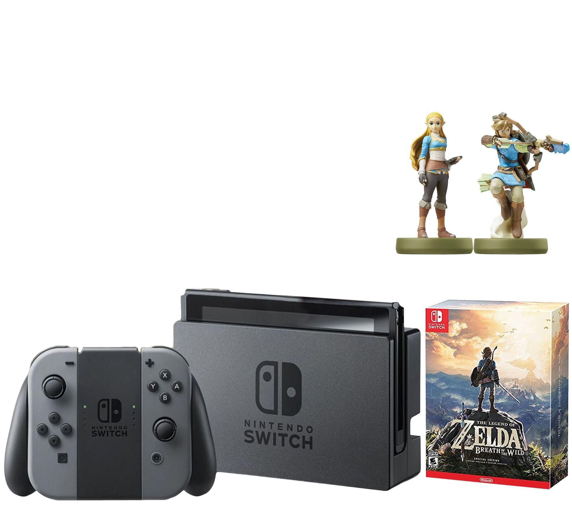 Nintendo switch with zelda breath of the wildspecial for Housse zelda nintendo switch