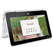 HP 11.6 2-in-1 Chromebook x360 - Celeron, 4GBRAM, 16GB eMMC - E293577