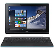 Acer 10 2-in-1 Laptop Windows10 Touch 2GBRAM 500GBHDD w/Lifetime Tech - E227878