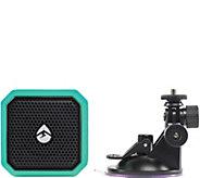 Ecoxgear Eco Pebble Lite Waterproof BT Speaker & Suction Mount - E229478