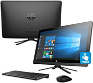 HP 22 Touch All-in-One PC 8GB RAM 1TB HDD w/ Life Time Tech Support - E230478