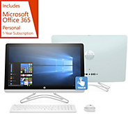 HP 24 Touch All-in-One PC AMD A9, 1TB HDD w/ Office 365 & Software Kit - E231378