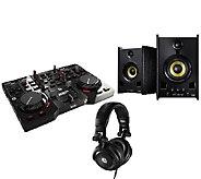 Hercules DJ Control Instinct with DJ Headphones& Speakers - E282978