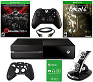 Xbox One 500GB Gears of War Bundle with Fallout 4 and Accs. - E284678