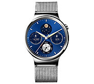 Huawei Smartwatch - Stainless Steel with SteelMesh Band - E287878