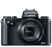 Canon PowerShot G5 X 20.2 MP Camera - E290278