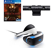 Sony PlayStation VR Headset, Camera, Until Dawn: Rush of Bloo - E291278
