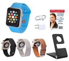 Apple Watch - 42MM Face with 3 Additional Bands, Stand & 2Yr TechSupport