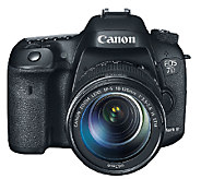 Canon EOS 7D Mark II 20.2MP DSLR Camera & 18-135mm Lens - E280479