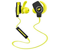 Monster iSport Bluetooth Wireless SuperSlim Headphones - E286879
