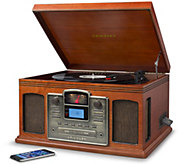 Crosley Radio Bluetooth Turntable with CD & Cassette Players - E293179