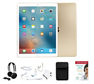 Apple iPad Pro 9.7 32GB Wi-Fi w/ 2 Year Tech, Neoprene Sleeve & Accessories - E229380