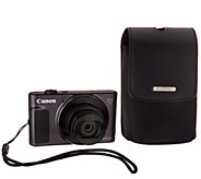 Canon PowerShot SX620 HS 20MP 25X Zoom Digital Camera with Case & SD - E231880